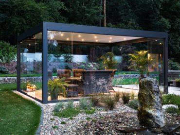 Mała architektura, czyli pergola ogrodowa przy naszym domu